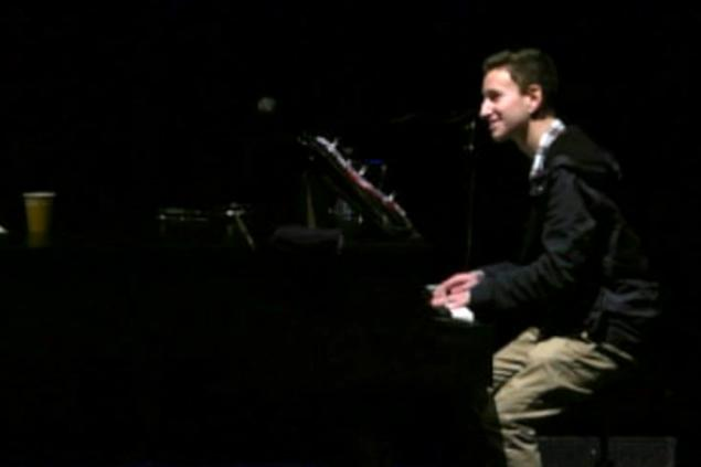 Michael Pollack has always had confidence behind a piano; only recently did he gain confidence behind a microphone.