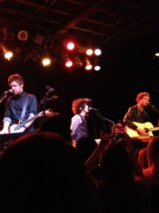 LP jamming with Kodaline during encore