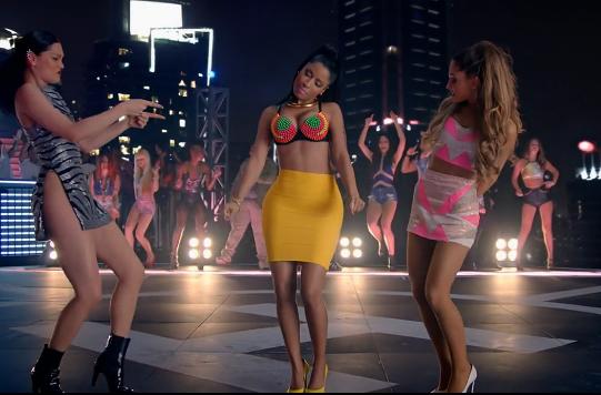 Jessie J, Nicki Minaj, and Ariana Grande