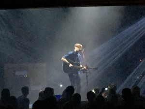 Every member of the audience would have followed Ben Gibbard into the dark.