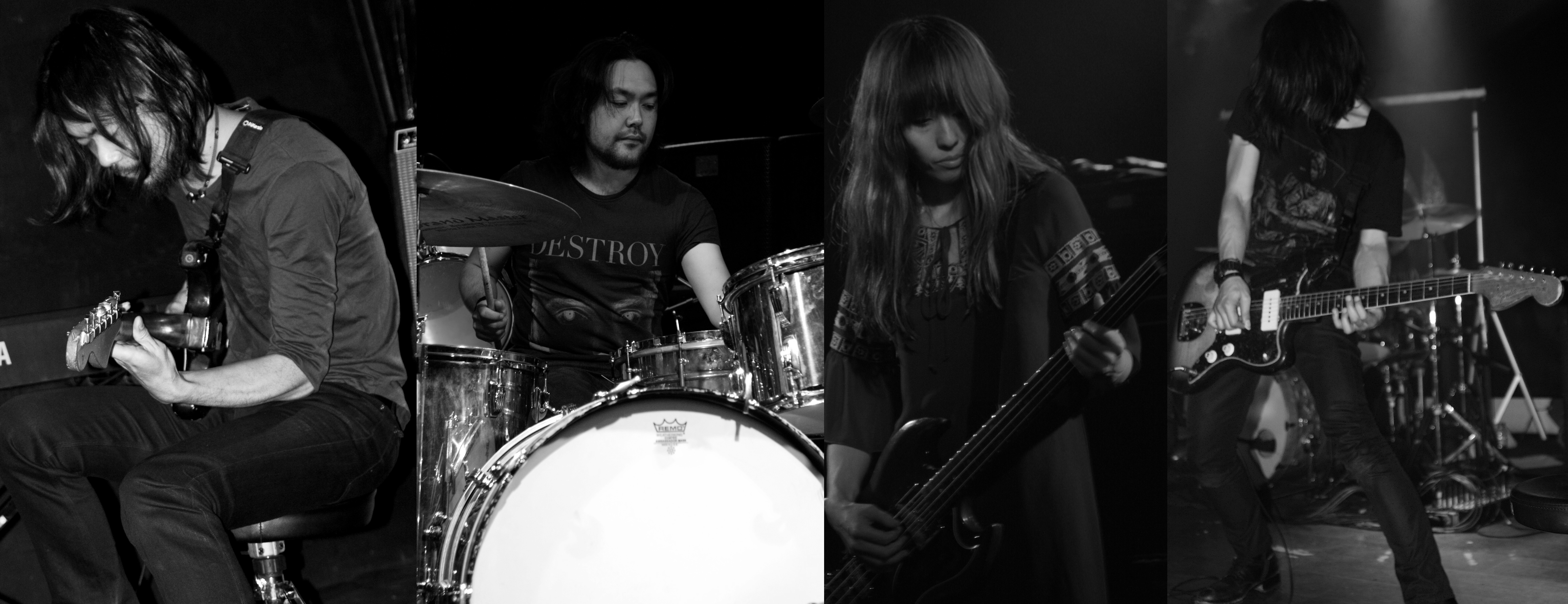 Japanese post-rock band Mono (photo courtesy of Wikipedia)