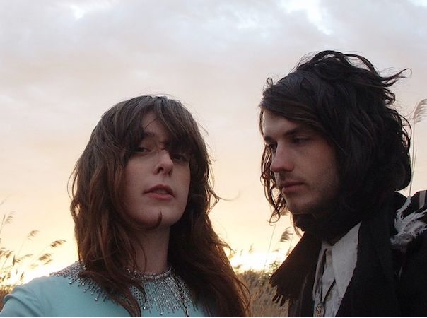Beach House's Legrand and Scally (photo courtesy of Stereogum)