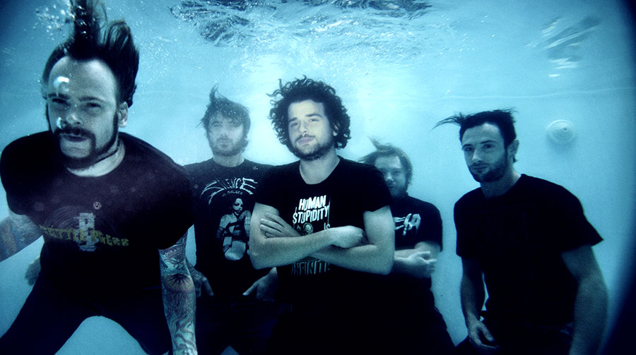 German metal band The Ocean (photo courtesy of the band's website, theoceancollective.com)