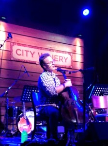Ben Sollee at City Winery October 12th