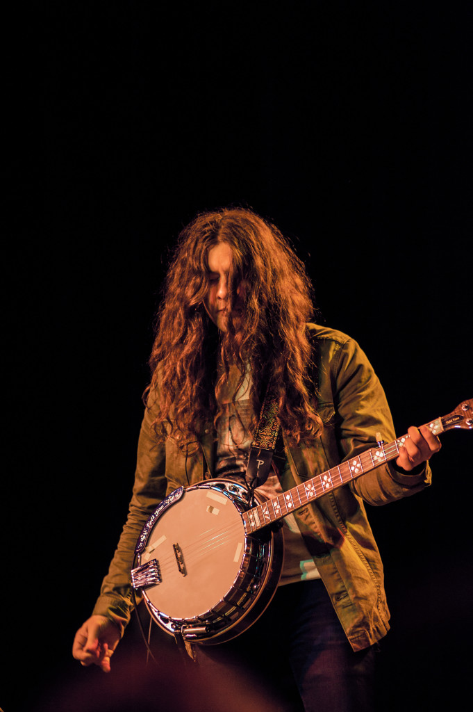 Kurt Vile and his banjo (photo courtesy of Alexandra Justice)