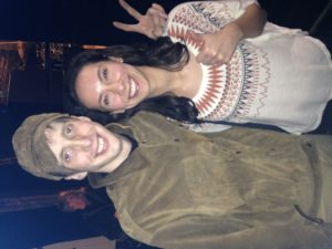 Julia with Bradford Cox from Deerhunter